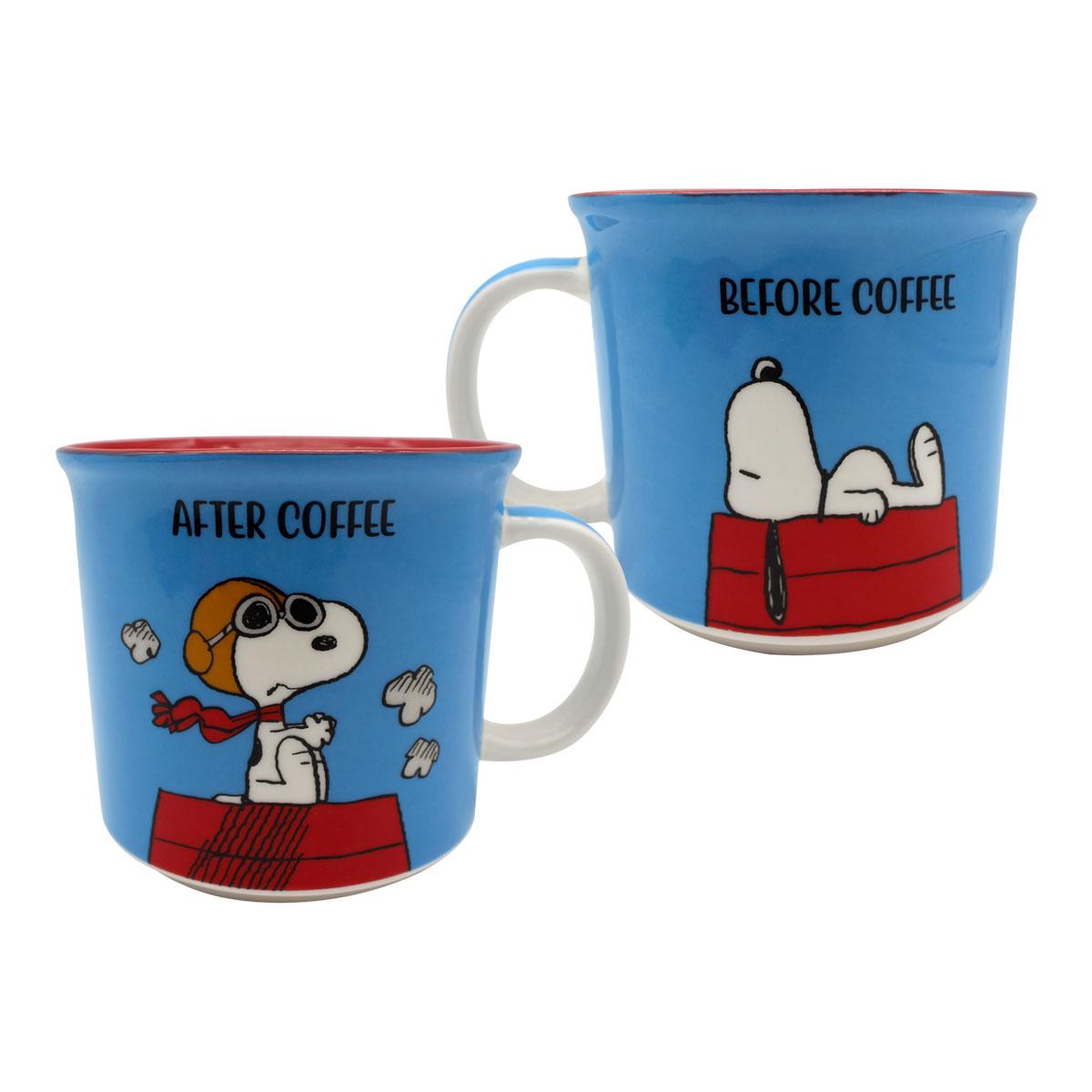 Caneca Snoopy Sob Controle 350 ml - Presente Super