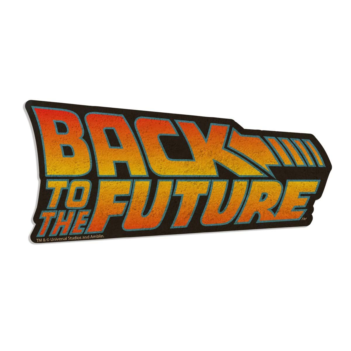 Capacho de Fibra de Coco com o logo do filme que marcou os anos 80 e 90 no Brasil, De Volta para o Futuro ou Back To The Future, como é escrito no capacho.