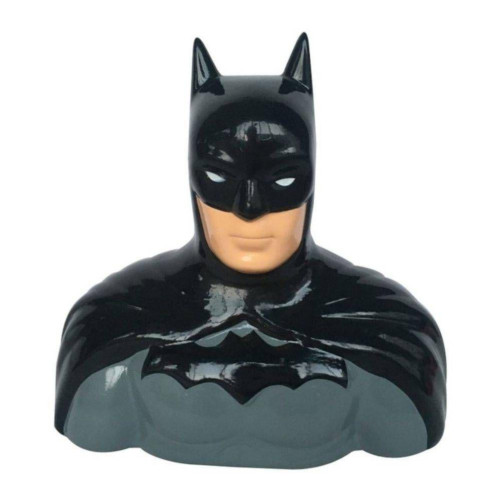 Cofre Moedas Cerâmica Busto Batman DC Comics