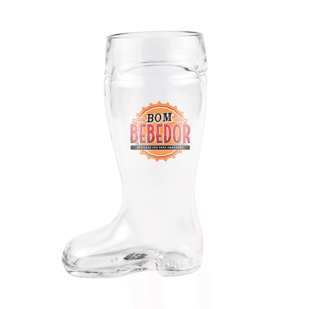 Copo Cerveja Chopp Formato Bota Bom Bebedor