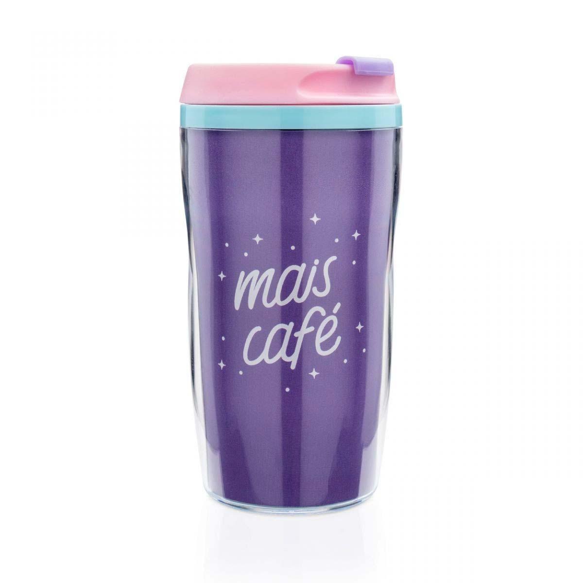Copo Para Viagem Mais Café 250 ml