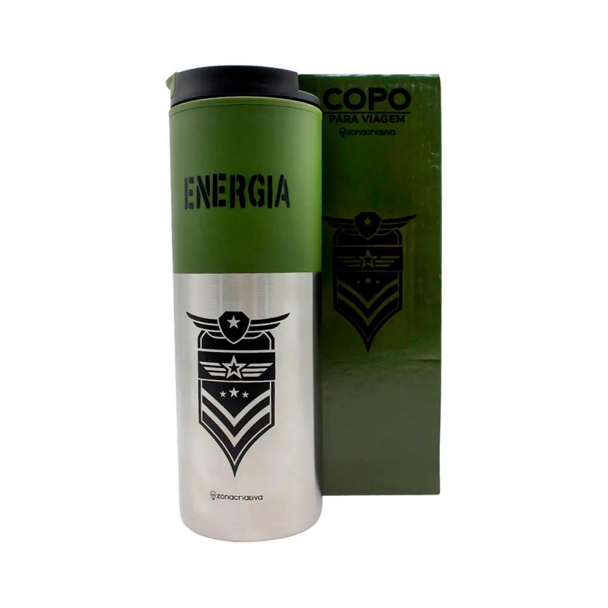 Copo Para Viagem Smart Energia 500 ml - Presente Super