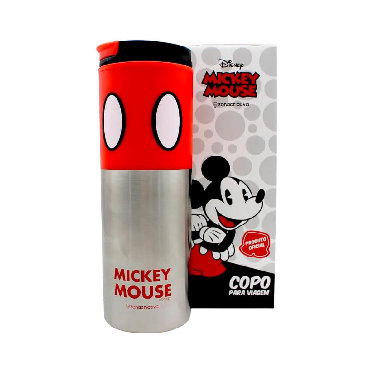 Copo Para Viagem Smart Mickey Mouse 500 ml - Presente Super