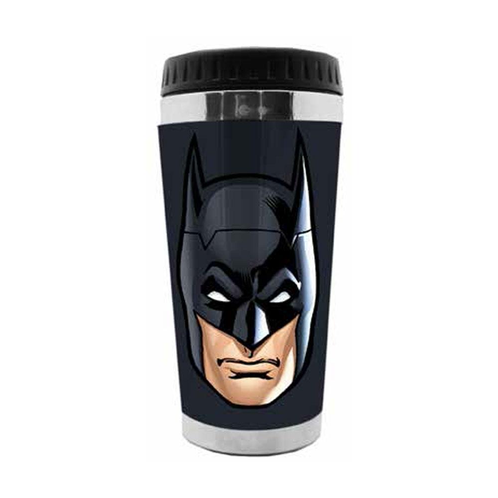 Copo Térmico Batman Face - Liga da Justiça