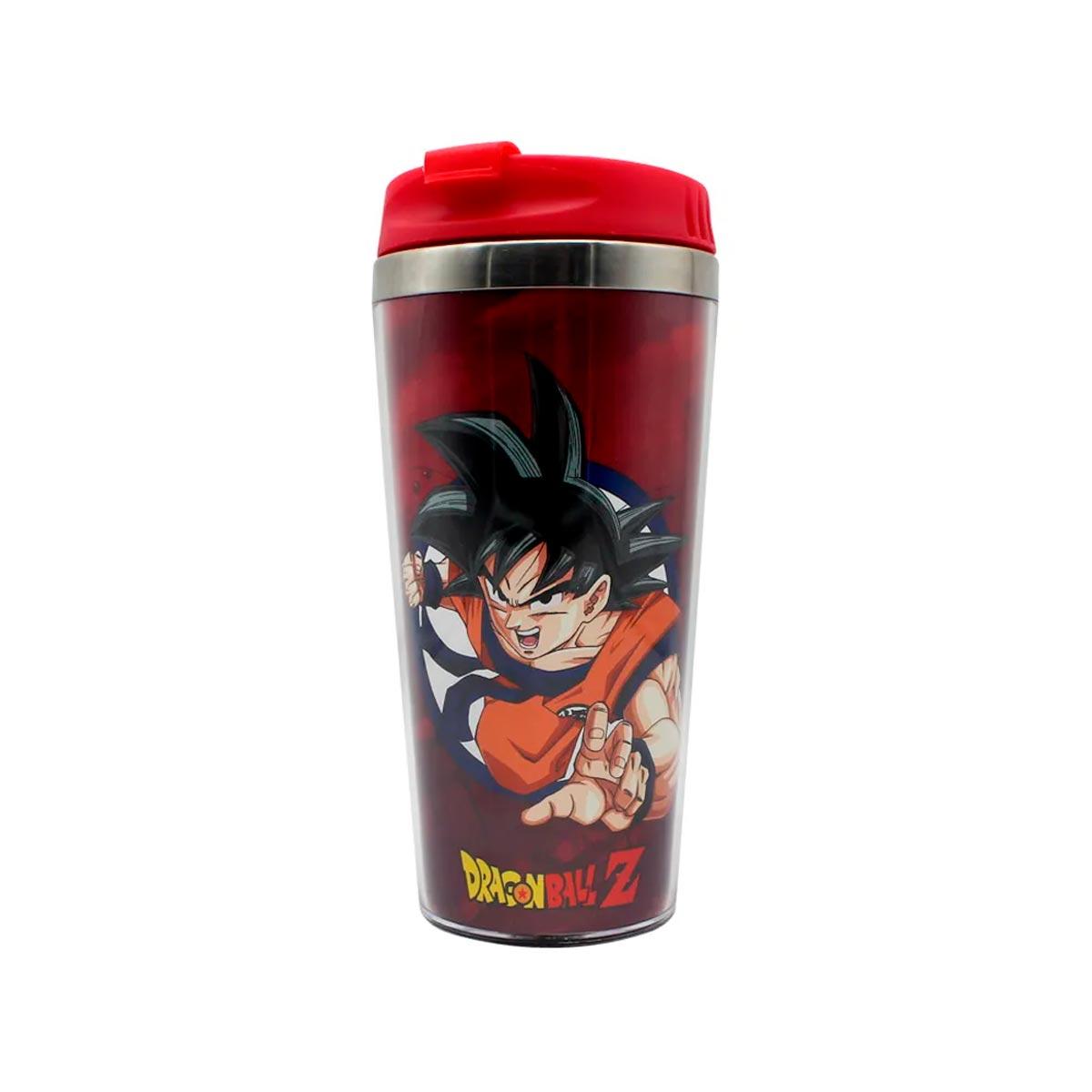 Copo Térmico Goku Rage Dragon Ball Z - Presente Super