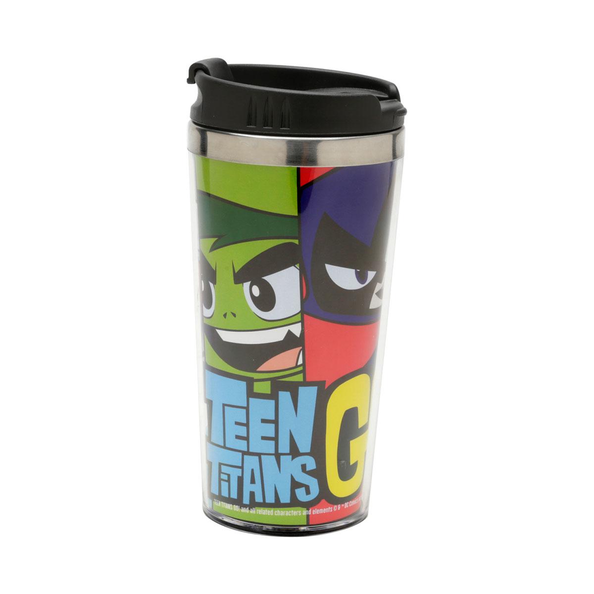 Copo Térmico Jovens Titãs Teen Titans 500 ml