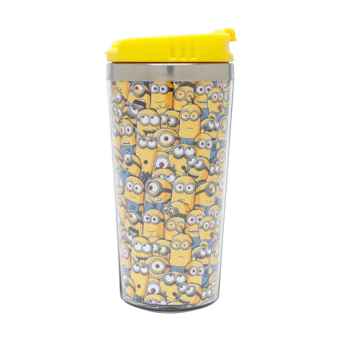 Copo Térmico Minions Amarelo Meu Malvado Favorito - Presente Super