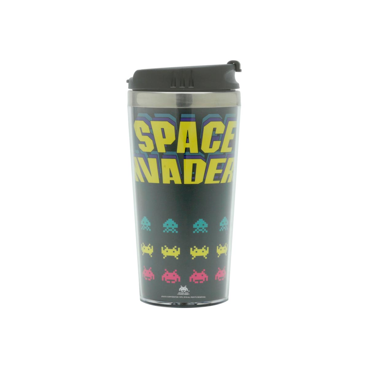 Copo Térmico Space Invaders Game Geek