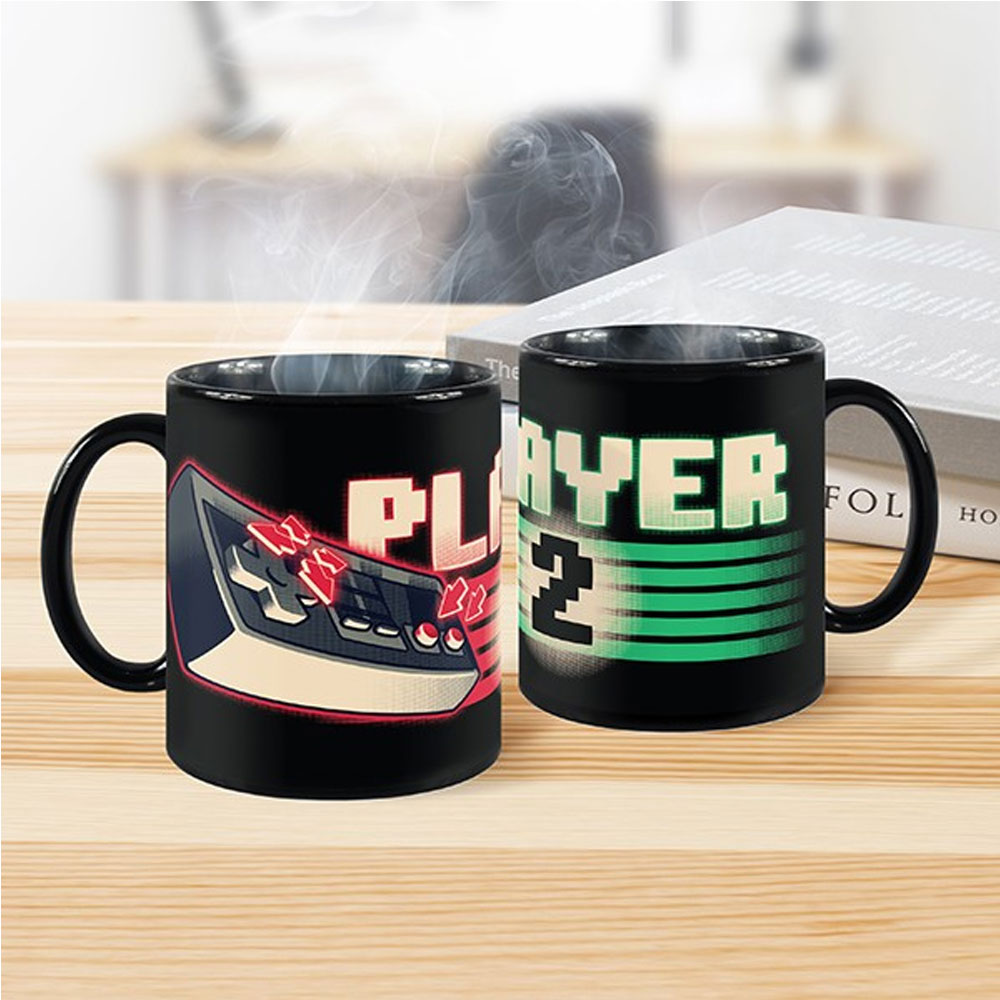 Kit de Canecas Player 1 Player 2