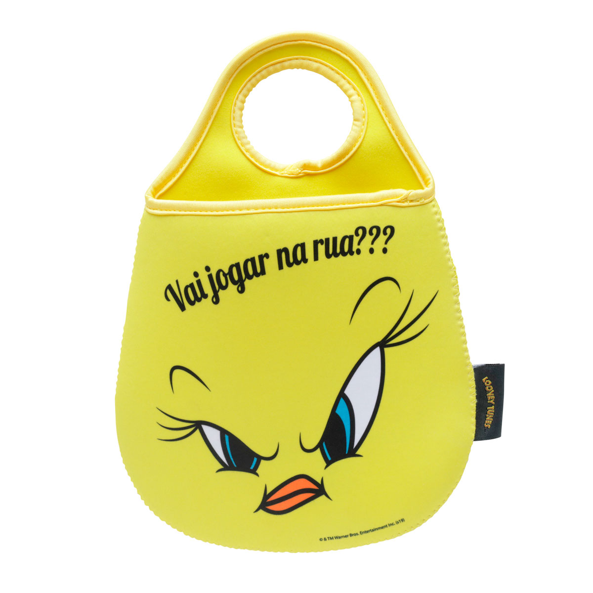 Lixeira para Carro Piu Piu Angry Face Looney Tunes - Presente Super