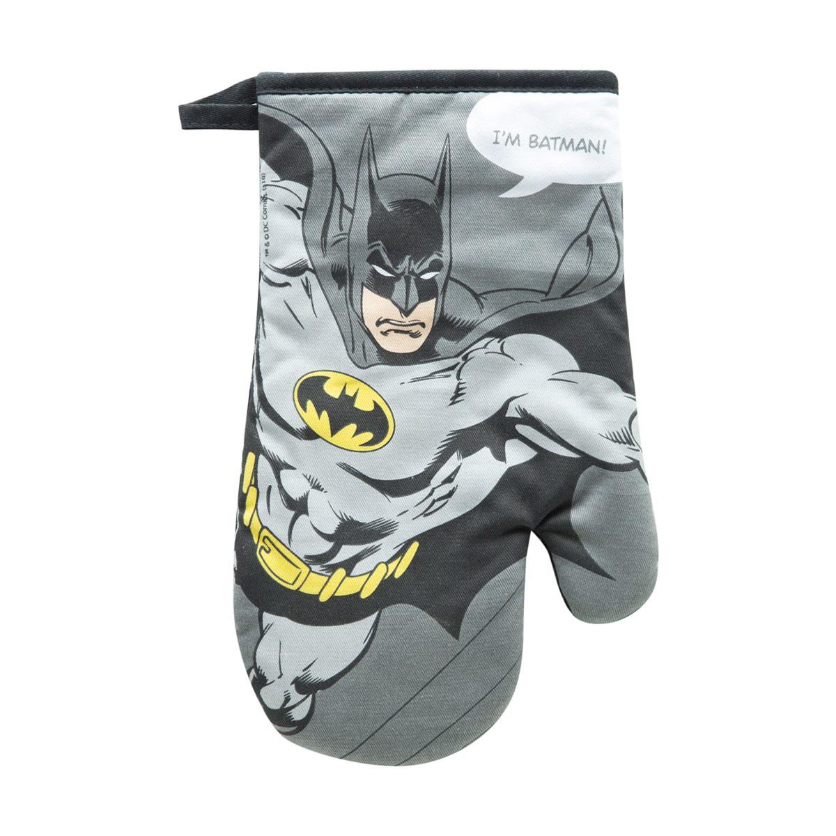 Luva de Cozinha Algodão Batman Liga da Justiça DC Comics