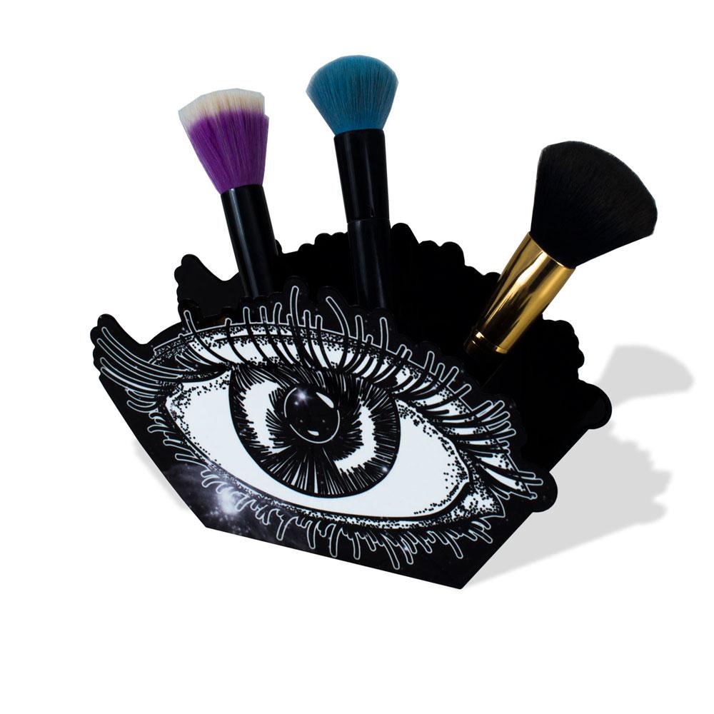 Organizador Porta Maquiagem e Pincéis - Olho Astros