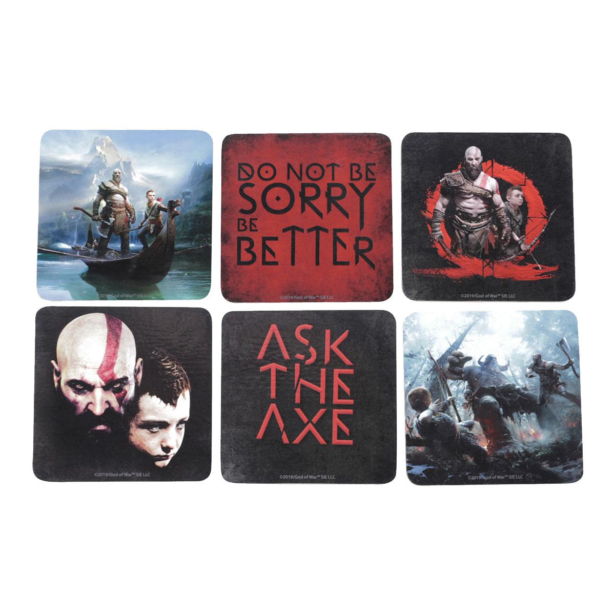 Porta Copos God Of War Kratos e Atreus Scene