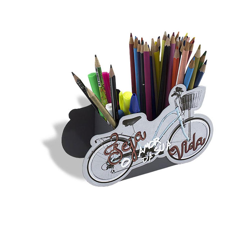 Porta Lápis Bicicleta Amor - Seja o Amor da Sua Vida