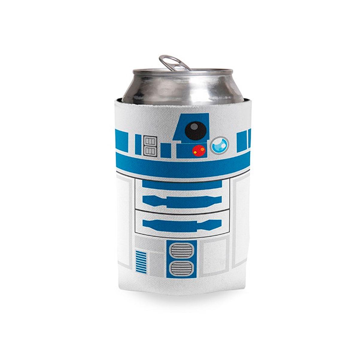 Porta Lata Droide R2D2 Star Wars - Presente Super