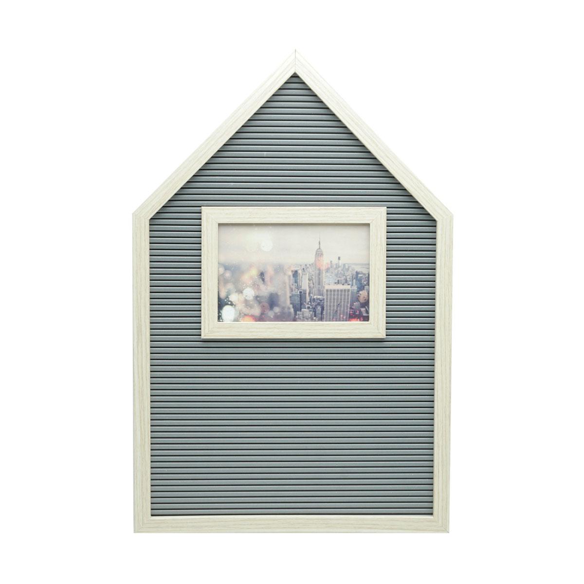 Quadro Alfabeto Letreiro com Porta Retrato - Presente Super