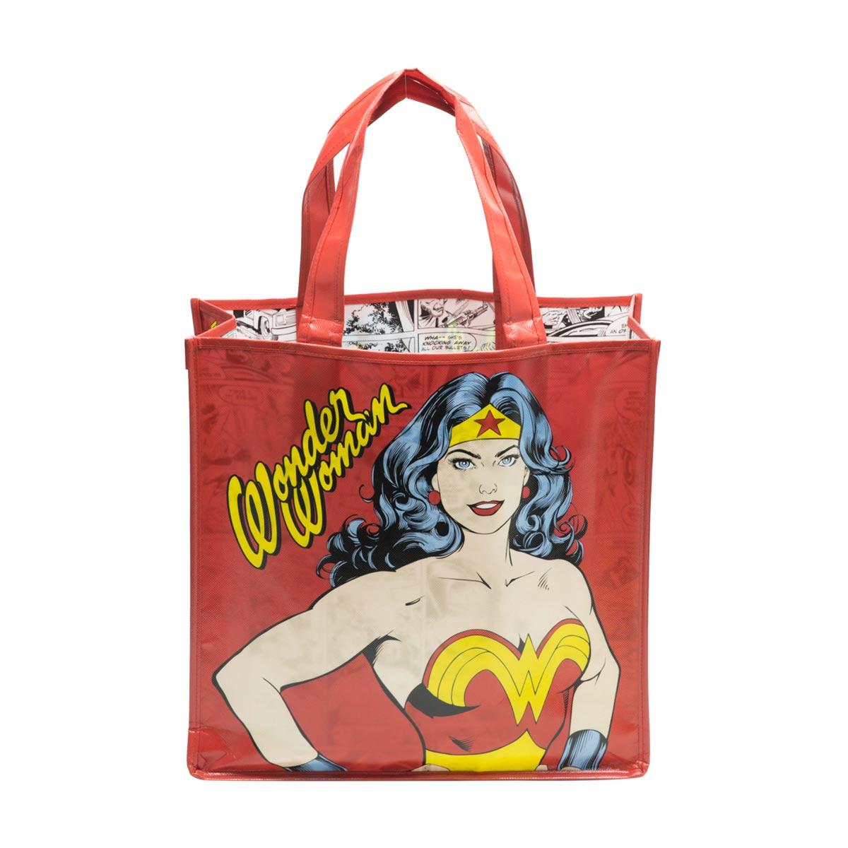 Sacola Reutilizável Mulher Maravilha Wonder Woman DC Comics