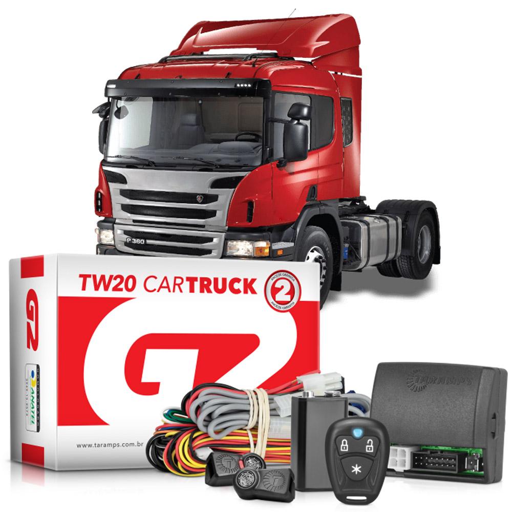 Alarme Para Caminhão Taramps TW20 Car Truck - 2 Controles TR1