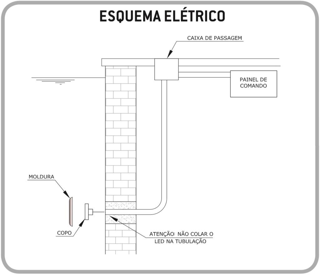 Esquema Elétrico Easy LED 9W Light Tech