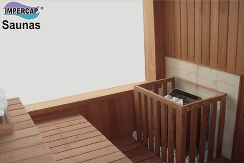 Indicação sauna seca