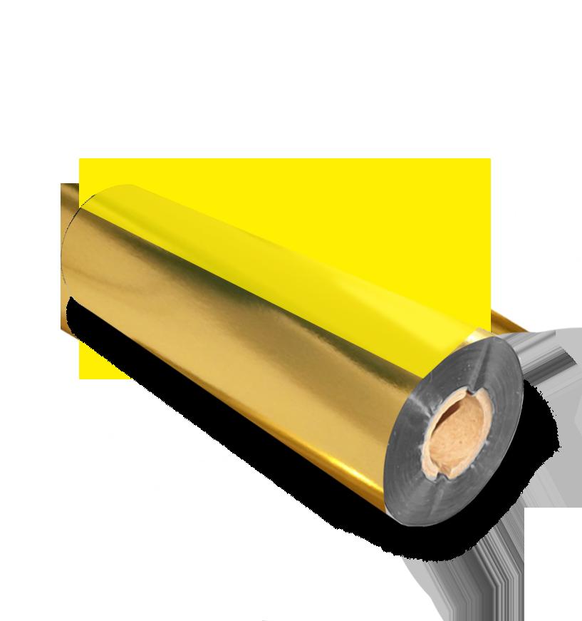 Ribbon de Resina Dourado