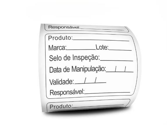 Etiquetas Adesivas Prazo de Validade 6 Linhas 60x40