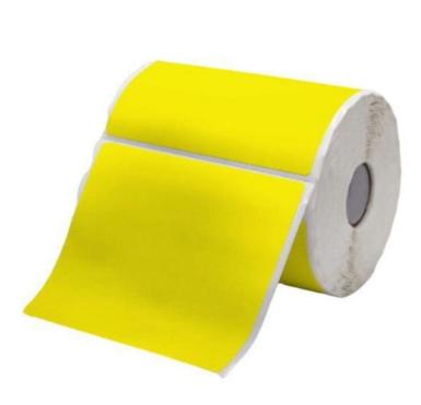 Etiquetas Adesivas 100x100 Amarela
