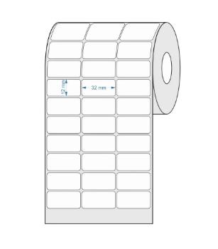 Etiquetas Adesivas 32x12