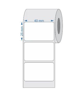Etiquetas Adesivas 40x25