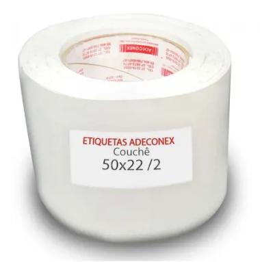 Etiquetas Adesivas 50x22