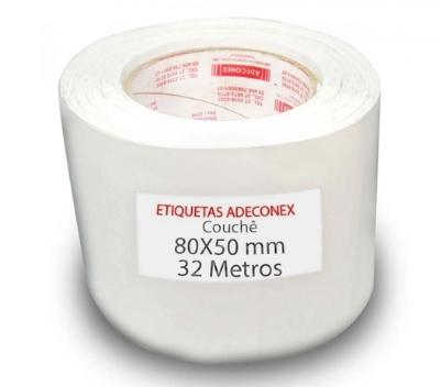 Etiquetas Adesivas 80x50