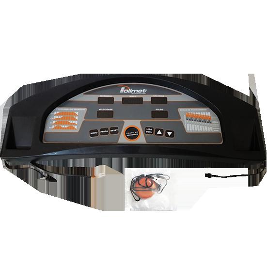 Painel Monitor Completo Esteira Ergométrica Polimet EP 3800