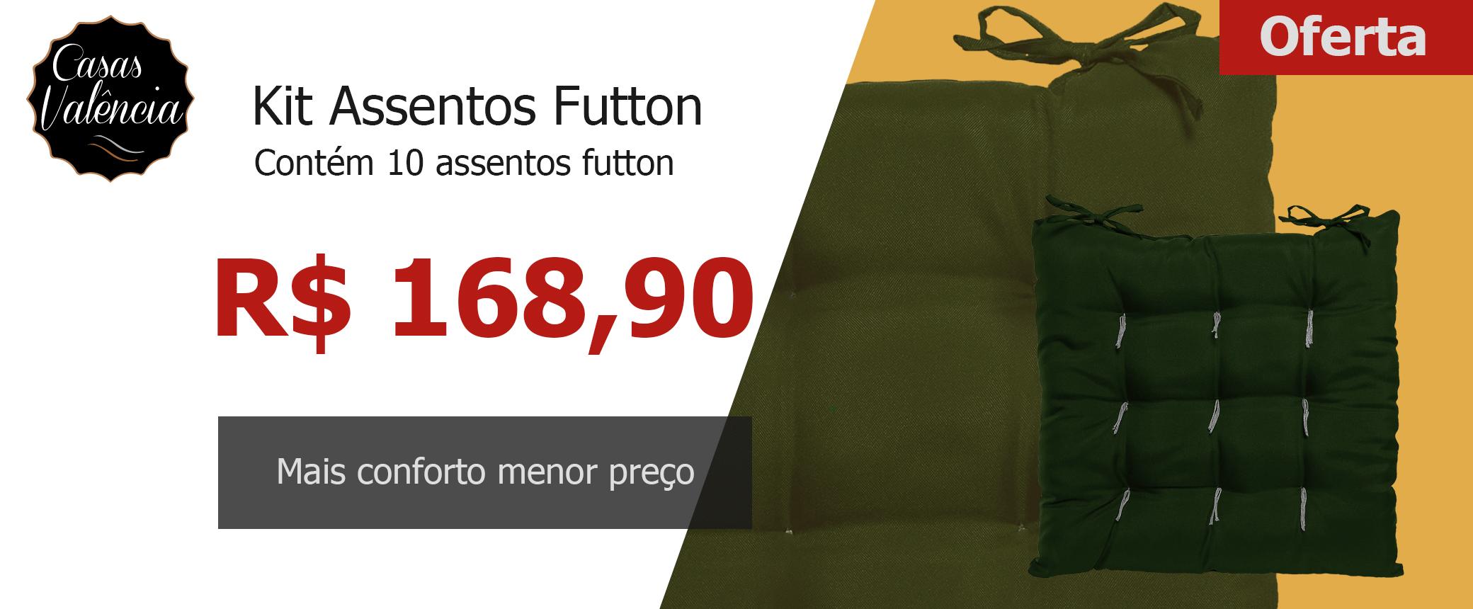 Banner kit 10 assentos futton