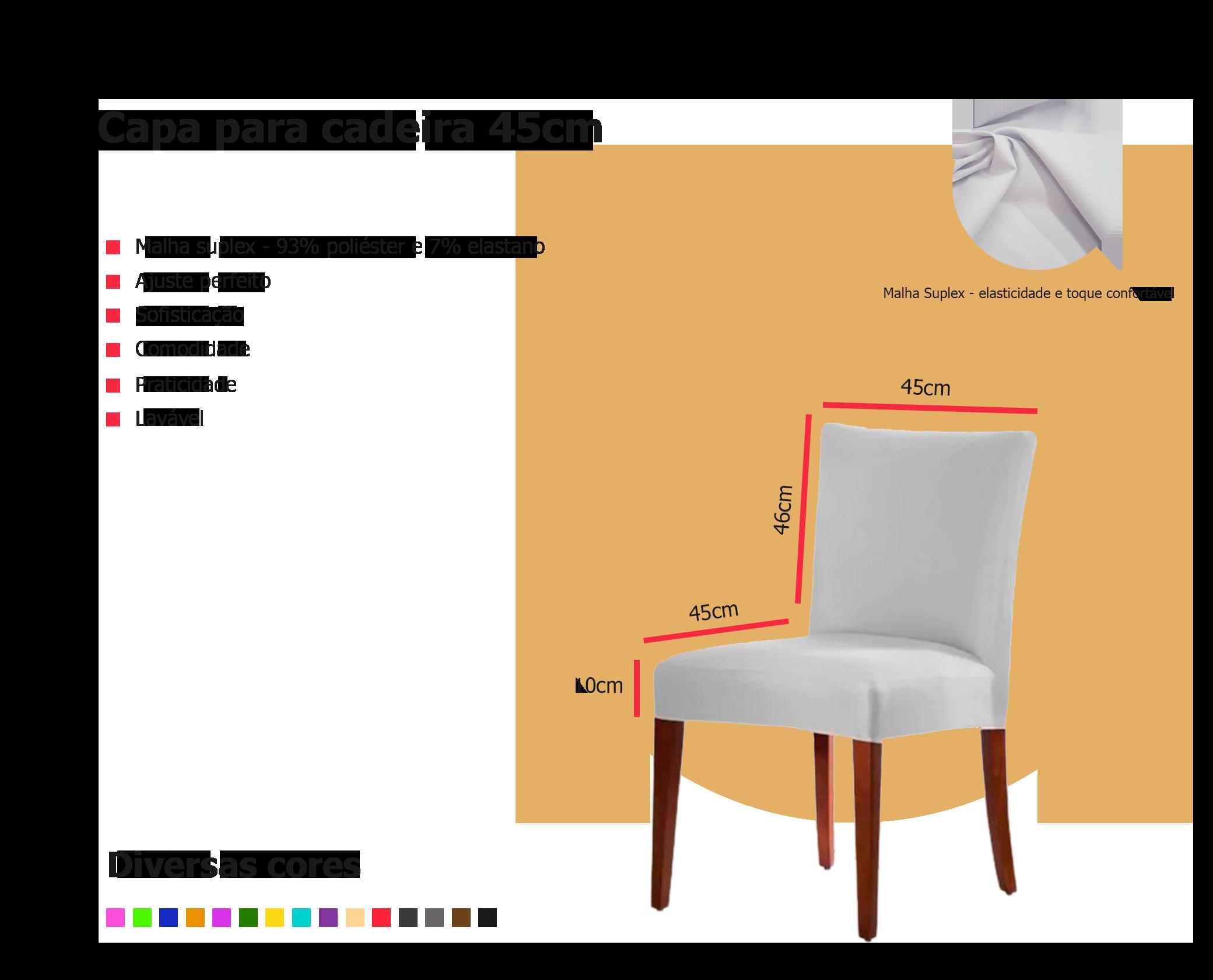 Banner descritivo de capa de cadeira
