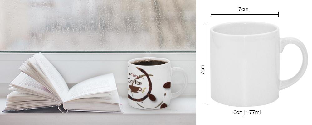caneca de café 6oz