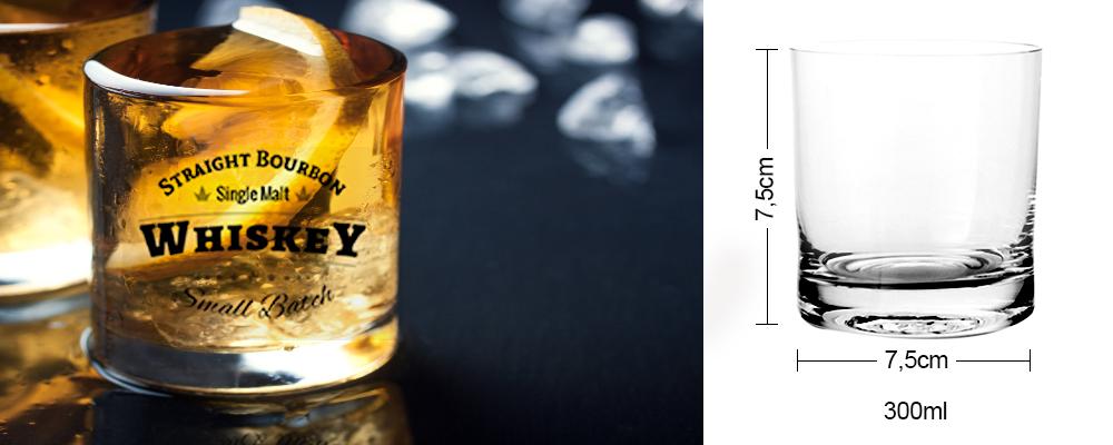 copo para sublimação uísque ou whisky