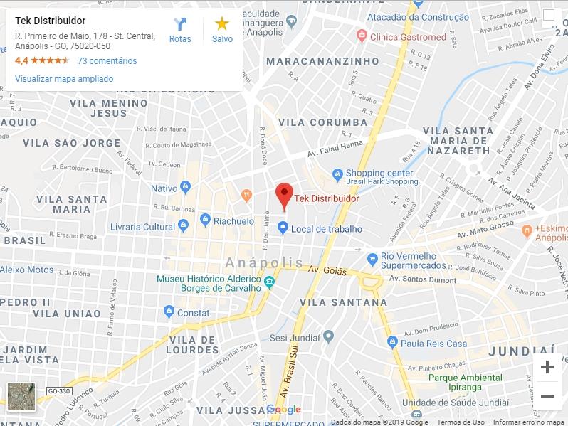 Localização Click no mapa