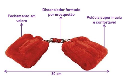 algema pelucia erotika vermelha