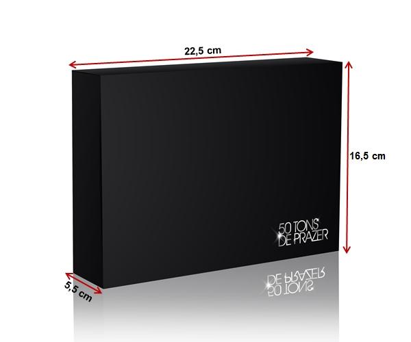 caixa 50 tons mais escuro