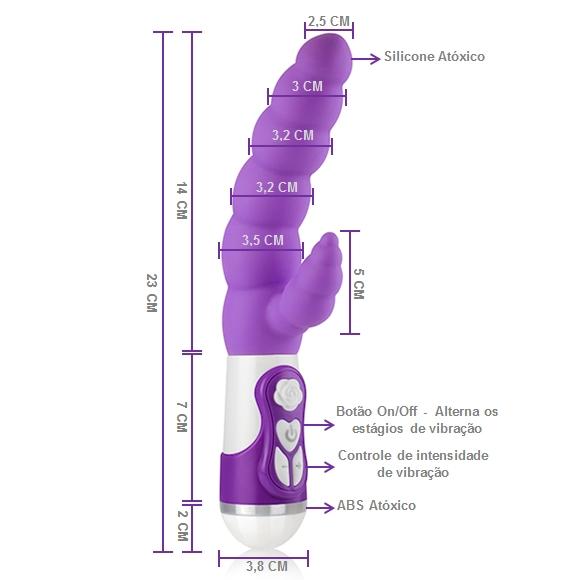 vibrador plug anal
