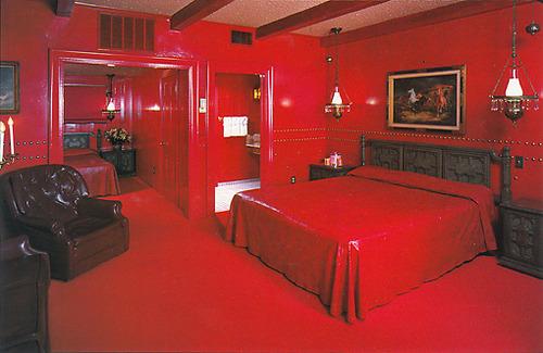 Quarto vermelho 50 tons