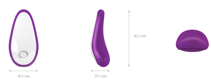 Vibrador T2 - Violet - Ovo Lifestyle