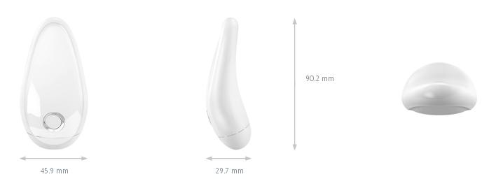 Vibrador T2 - White - Ovo Lifestyle