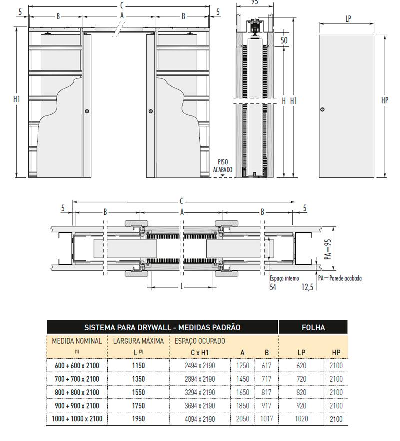 Sistema-para-Porta-Dupla-de-Correr-Embutida-na-Parede-Drywall-portello