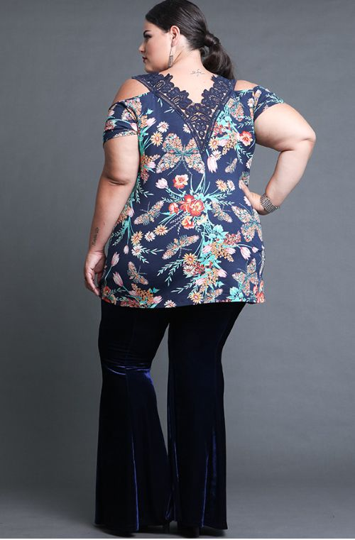 Blusa Estampada Plus Size