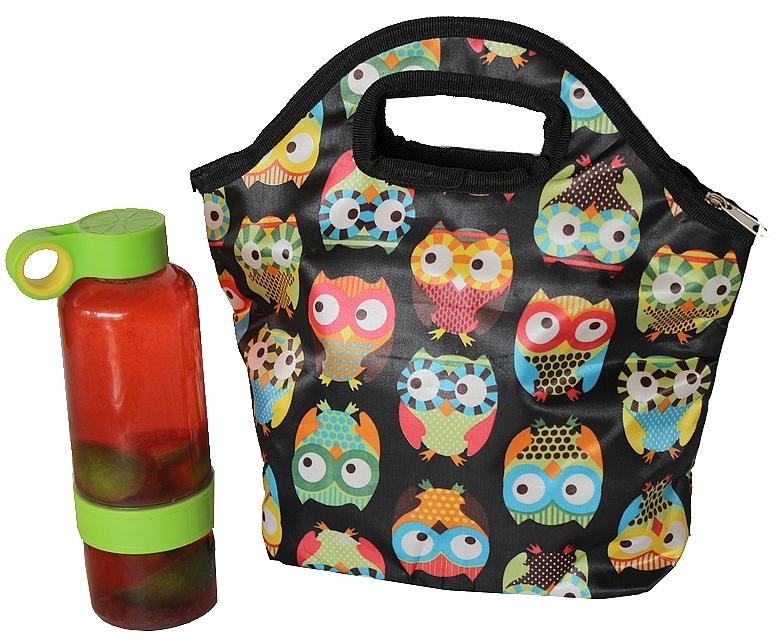 Bolsa para carregar lanche : Ditudotem bolsa t?rmica marmita alimentos lancheira frio e