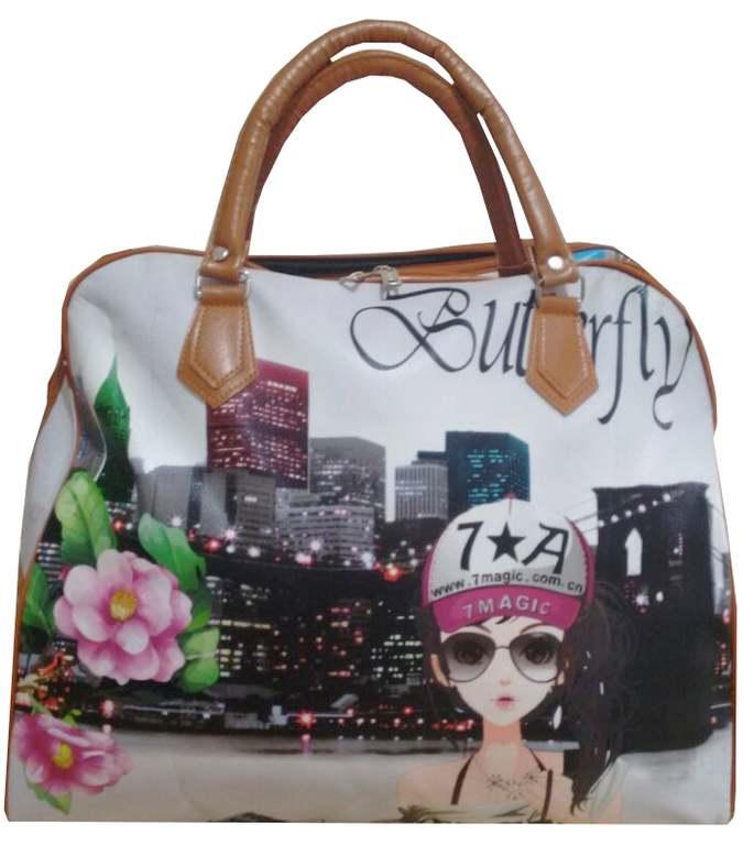 Bolsa De Mao Para Viagem Feminina : Ditudotem bolsa feminina grande de viagem l