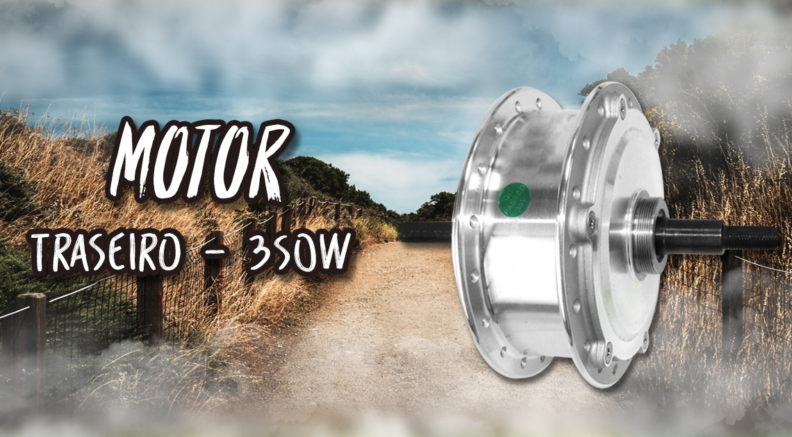 Motor Traseiro - 350 watts