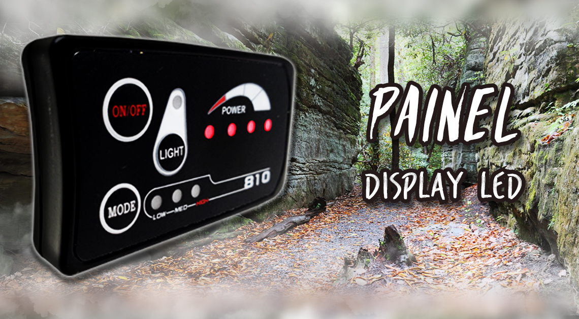 Painel de display led