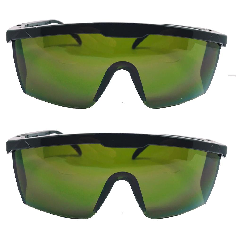 óculos de proteção raio laser e luz pulsada